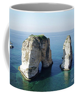 Rocks In Sea Coffee Mug