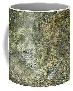 Coffee Mug featuring the photograph Rocks Under The Soca River - Slovenia by Stuart Litoff