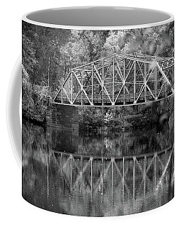 Rocks Village Bridge In Black And White Coffee Mug