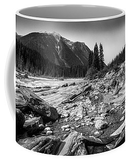 Rocky Banks Of Kootenay River Coffee Mug