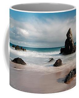 Rocky Beach On Sango Bay Coffee Mug