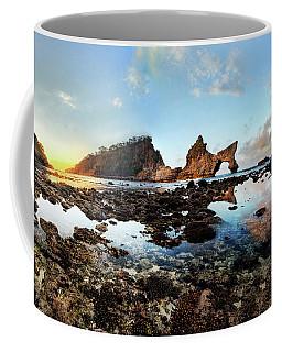 Rocky Beach Sunrise, Bali Coffee Mug