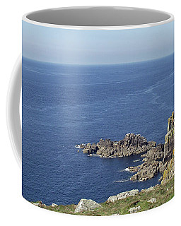Rocky Coastline At Land's End Coffee Mug