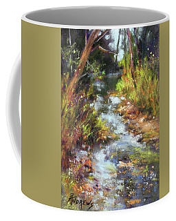 Rocky Creekbed Coffee Mug by Rae Andrews