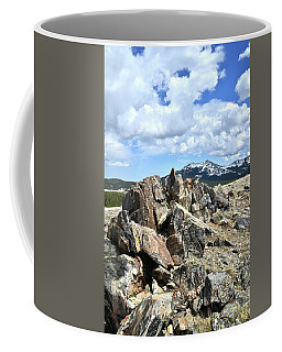 Rocky Crest At Big Horn Pass Coffee Mug