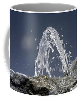Rocky Fountain In Infrared Coffee Mug