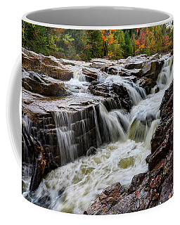 Coffee Mug featuring the photograph Rocky Gorge Nh by Michael Hubley