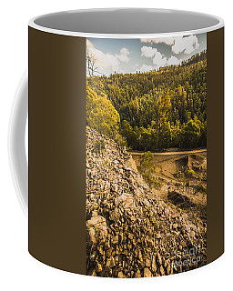 Rocky Hills And Forestry Views Coffee Mug