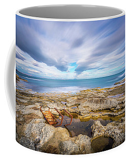 Coffee Mug featuring the photograph Rocky Landscape by Gary Gillette