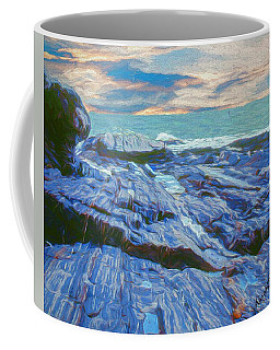 Rocky Maine Coast. Coffee Mug