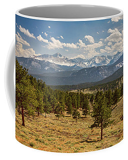 Coffee Mug featuring the photograph Rocky Mountain Afternoon High by James BO Insogna