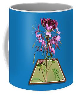 Rocky Mountain Bee Plant Coffee Mug