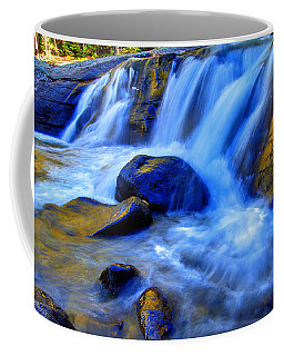 Rocky Mountain Cascade Coffee Mug by Scott Mahon
