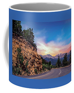 Rocky Mountain High Road Coffee Mug