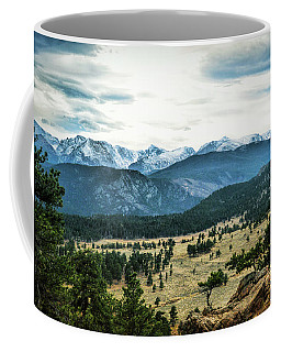 Coffee Mug featuring the photograph Rocky Mountain National Park by Ann Powell