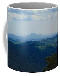 Rocky Mountain Overlook On The At Coffee Mug