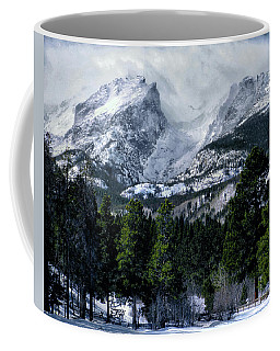 Rocky Mountain Winter Coffee Mug by Jim Hill