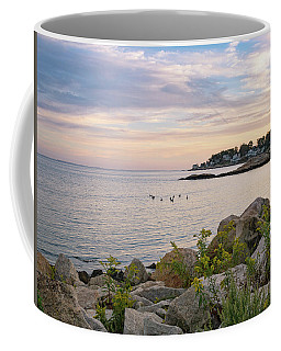 Rocky Neck State Park Blue Hour Coffee Mug