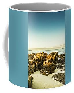 Rocky Oceanscape Coffee Mug