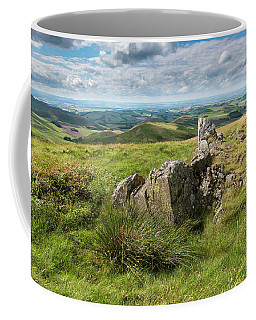 Rocky Outcrop And Spring Coffee Mug