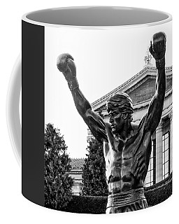 Rocky - Philadelphia - Black And White Coffee Mug