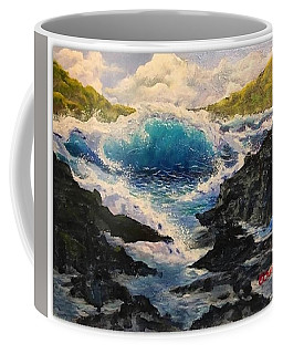 Rocky Sea Coffee Mug