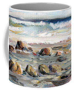 Rocky Seashore Coffee Mug
