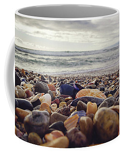 Coffee Mug featuring the photograph Rocky Shore by April Reppucci