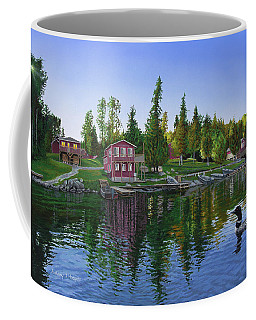 Rocky Shore Lodge Coffee Mug