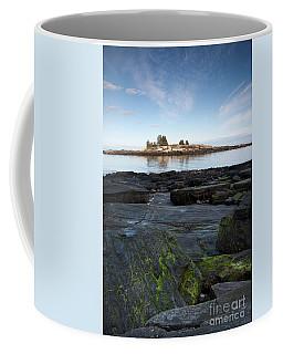 Rocky Shore, New Harbor, Maine #8039-8041 Coffee Mug