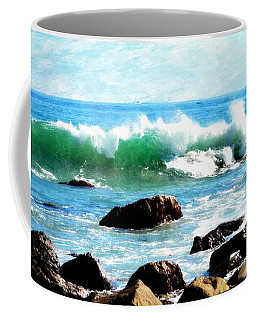 Rocky Shoreline - Dana Point Coffee Mug by Glenn McCarthy