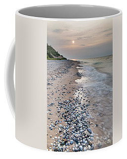 Rocky Shores At Sleeping Bear Point Coffee Mug