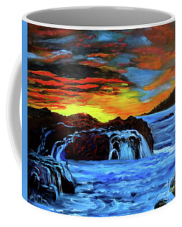 Rocky Shores Coffee Mug by Jenny Lee