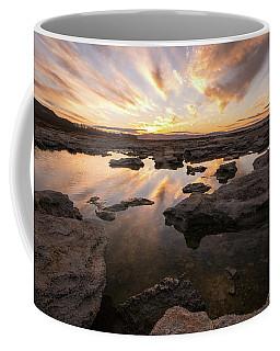 Rocky Shores Of Utah Lake Coffee Mug