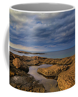 Coffee Mug featuring the photograph Rocky Stormin by Rachel Cohen