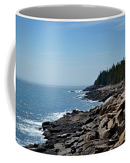 Rocky Summer Shore Coffee Mug