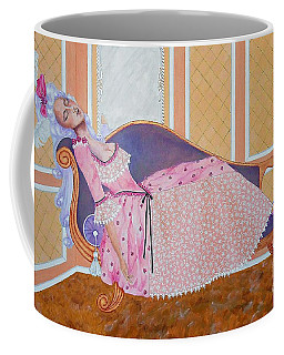 Rococo Coquette -- Mme. Pompadour, #2 In Famous Flirts Series Coffee Mug