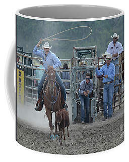 Rodeo Calf Roping Coffee Mug