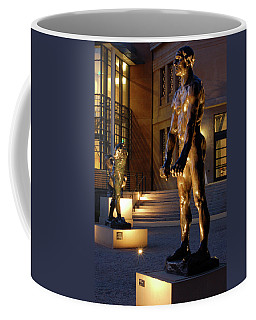 Rodin Garden Coffee Mug by James Kirkikis