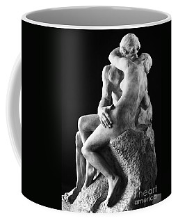 Coffee Mug featuring the photograph Rodin: The Kiss, 1886 by Granger