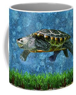 Rodney The Diamondback Terrapin Turtle Coffee Mug