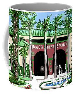 Roger Dean Stadium Coffee Mug
