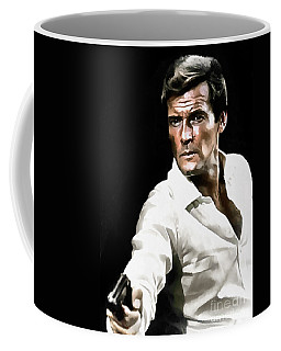 Roger Moore Coffee Mug