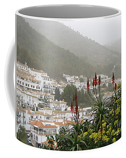 Coffee Mug featuring the photograph Rojo In The Pueblos Blancos by Suzanne Oesterling