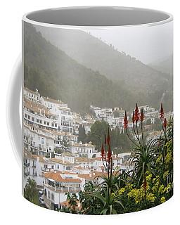 Rojo In The Pueblos Blancos Coffee Mug by Suzanne Oesterling