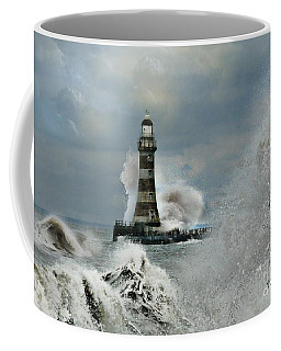 Roker Pier And Lighthouse Coffee Mug