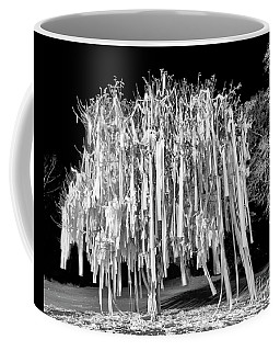 Rolled Tree Blk N White Coffee Mug