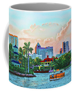 Rolling Down The New River Coffee Mug