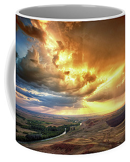 Rolling Rain Of Summer Sunset Coffee Mug
