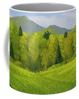 Rolling Spring Pastures  Coffee Mug